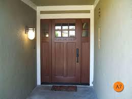 Steel Or Fiberglass Exterior Door Brown Fiberglass Entry Doors Color The Wooden Houses Choose