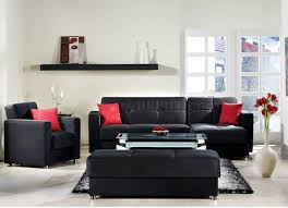 Living Room With No Coffee Table by Elegant Rainbow Storage Sectional Sofa In Black By Sunset