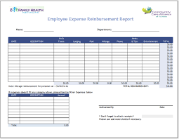 fuel report template 35 free printable expense report templates blue layouts
