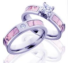 pink camo wedding rings pink camo wedding rings with real diamonds criolla brithday