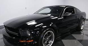 2008 Black Ford Mustang Ebay 2008 Ford Mustang Gt Coupe 2 Door Rare Black Bullitt 4 6l