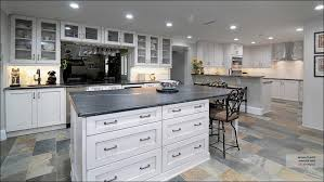kitchen what color appliances with white cabinets slate