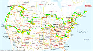 Map A Trip Map Of Best Us Road Trip World Maps