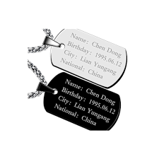 mens personalized dog tags high quality mens personalized dog tags buy cheap mens