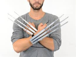 Wolverine Halloween Costume 3ders Org Awesome Halloween Costume 3d Printed Single