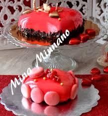 glacer cuisine entremet coeur d amour glaçage miroir amour de cuisine