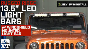 light bar jeep jeep wrangler rugged ridge 13 5