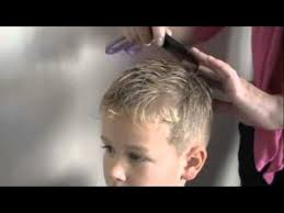 cutting boy hair with scissors how to cut boys hair with clippers and scissors youtube