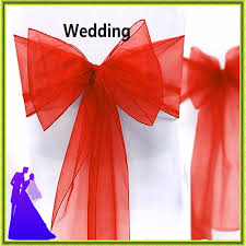 cheap sashes for chairs wholesale cheap chair sash organza chair sash wedding for sale