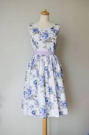 floral bridesmaid dresses blue