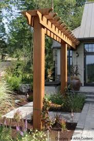 How To Build A Simple Pergola by How To Build A Simple Garden Arbor Arbor Ideas Garden Arbours
