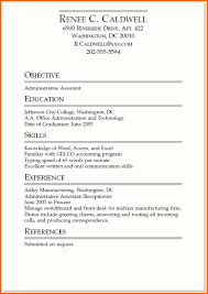 Front Desk Job Resume by 7 Job Resume Examples For Students Budget Template Letter