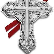 wallace grande baroque cross 2016 wallace ornament
