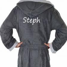 achat robe de chambre homme robe chambre ultra douce polaire à capuche noir homme bon plan