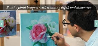 craftdrawer crafts learn how to paint flowers in acrylic with