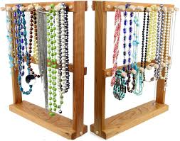 jewelry holder necklace images Jewelry holder necklace holder rack double sided bracelet jewelry jpg