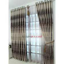 White Energy Efficient Curtains Stylish And Fancy Energy Saving Curtains Of Brown Printed Patterns