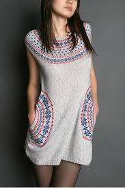 fair isle sweater dress fairisle sweater dress ez diy neckline of other