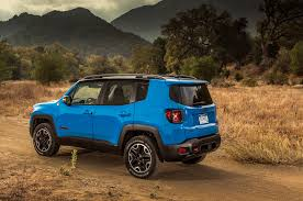 jeep trailhawk blue 2015 jeep renegade review