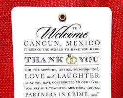 Wedding Gift Destination Wedding Wedding Itinerary Destination Agenda Wedding Thank You