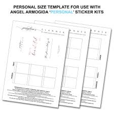 planner templates u2013 angel armogida