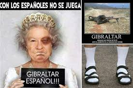 Queen Of England Meme - spanish memes mock britain comparing hero soldiers to gibraltar s