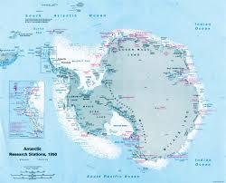 map of antarctic stations 4 0 antarctica past and present