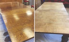 Oak Boardroom Table French Polish Of Oak Boardroom Table Alton Matthews Restoration