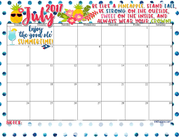 july calendar 2017 in spanish u2013 free calendar templates and images