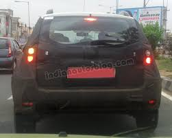 nissan terrano india spy shots nissan terrano u0027s interiors revealed