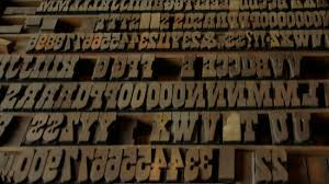 the wood type poster history of graphic design