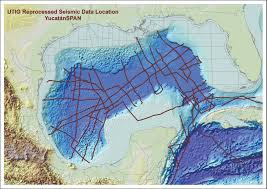 Old Texas Map Gulf Basin Data Current Events Spark New Life For Decades Old
