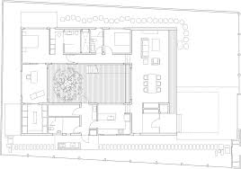 courtyard homes floor plans mandai courtyard house by atelier m a furniture house garden