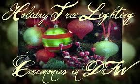 holiday tree lighting ceremonies in dfw