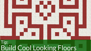 how to make cool floors in minecraft youtube
