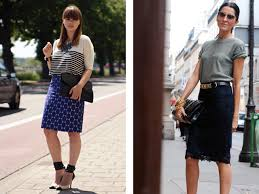 casual pencil skirt 12 pencil skirts you ll want to own now alexandra phanor faury