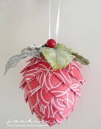 hybrid paper pinecone ornament sweet shoppe gallery