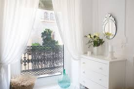 power up your design with acrylic or lucite curtain rods how to take plain store bought curtains to the next level