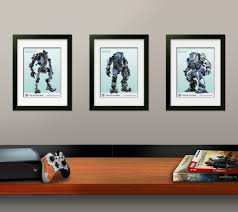the titanfall limited edition guide includes 3 custom lithos