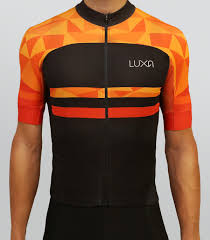 orange cycling jacket warm orange cycling jersey luxa cycling apparel photo