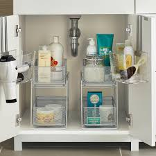 Bathroom Drawer Organizer by Bathroom Cabinet Starter Kit The Container Store