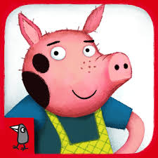 pigs nosy crow animated storybook review
