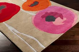 Poppy Area Rug Typical Area Rug For Kitchen Editeestrela Design