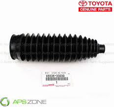 lexus toyota made genuine toyota lexus steering rack dust tierod boot oem 45535
