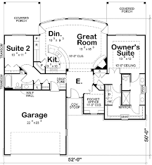 two bedroom house floor plans plan 42211db two bedroom ranch home ranch house plans ranch