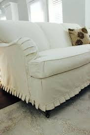 Leather Slipcover Sofa Leather Sofa Slipcovers Canada Individual Cushions Slipcover For