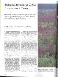 biological invasions as global environmental change pdf download