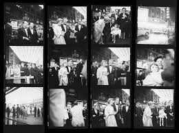 ta photographers maier contact sheet kirk douglas at the premiere of the
