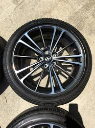 nissan 370z oem wheels 17