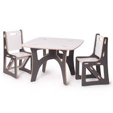 White Kids Table And Chair Set - modern kids furniture tables video and photos madlonsbigbear com